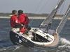 Waterkampioen De proefvaarten in IJmuiden van de Europese Boot van het Jaaar Verkiezing. Elf Europese Watersportbladen varen met de genomineerde boten. De Saffier 23